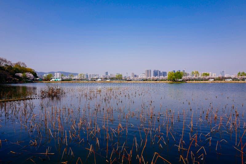 Stadtansicht von Wuxi, Porzellan lizenzfreie stockbilder
