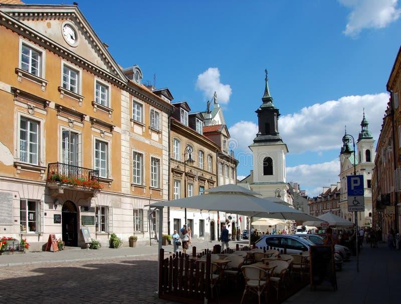 Stadtansichten von Warschau lizenzfreies stockfoto
