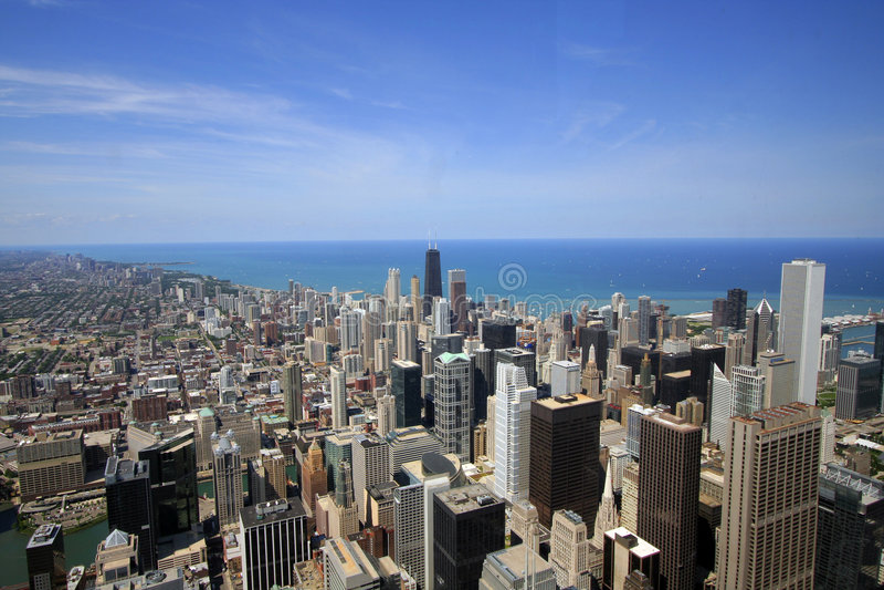 Stadtbild lizenzfreie stockfotos