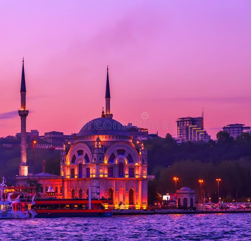 Stadtbild der alten Stadt Istanbul, die Türkei lizenzfreie stockfotografie