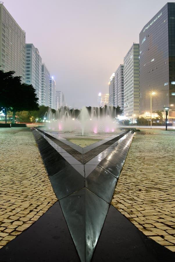 Stadtbild der Straße stockfoto