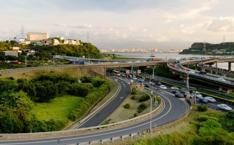 Stadtbild des Austausches lizenzfreies stockfoto