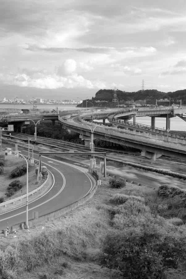 Stadtbild des Austausches stockfotos