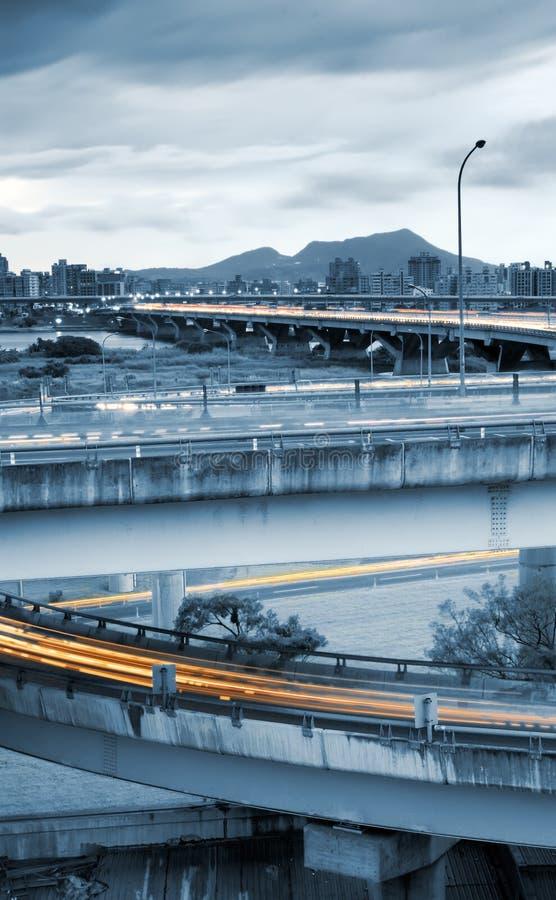 Stadtbild des Verkehrs lizenzfreie stockbilder
