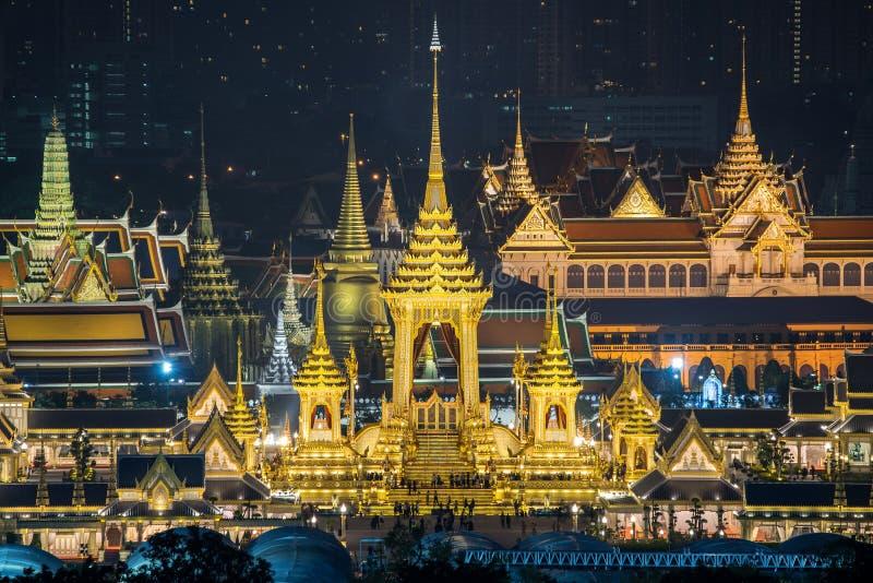 Stadtbild-im Stadtzentrum gelegenes Geschäftsgebietstadtgebiet, Reflexionslandschaft Bangkok lizenzfreie stockfotografie