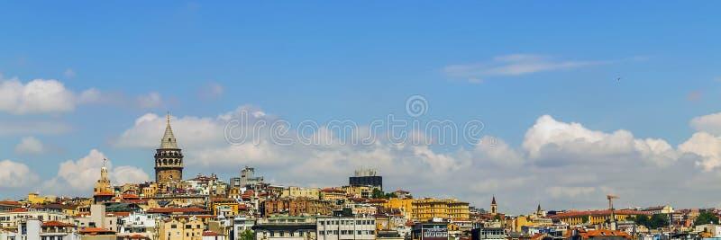 Stadtbild Istanbul, die Türkei lizenzfreies stockfoto