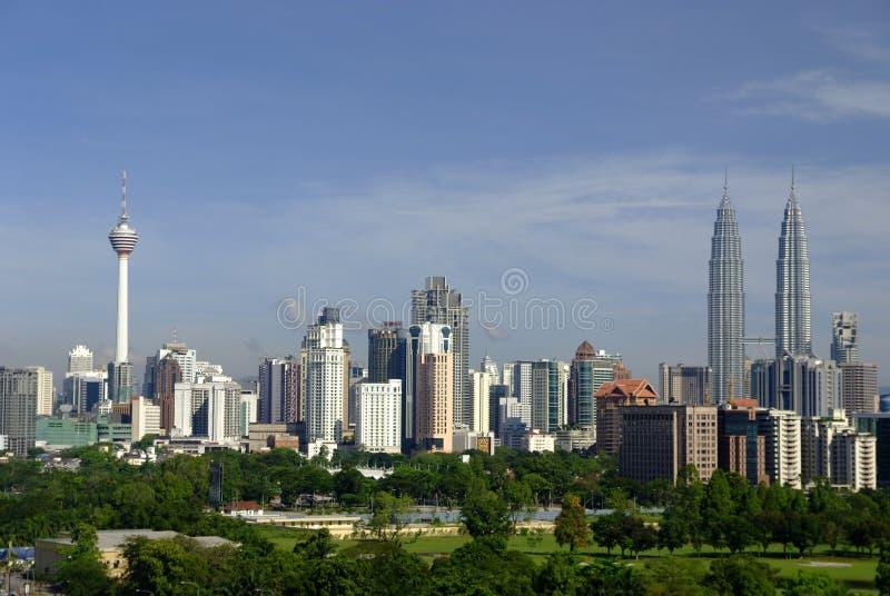 Stadtbild Kuala Lumpur stockfoto