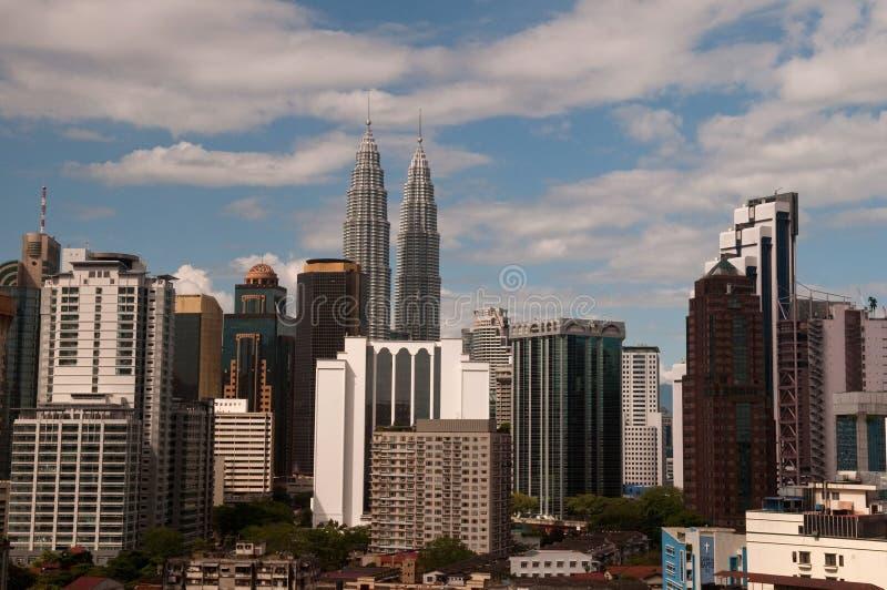 Stadtbild Kuala Lumpur stockbilder