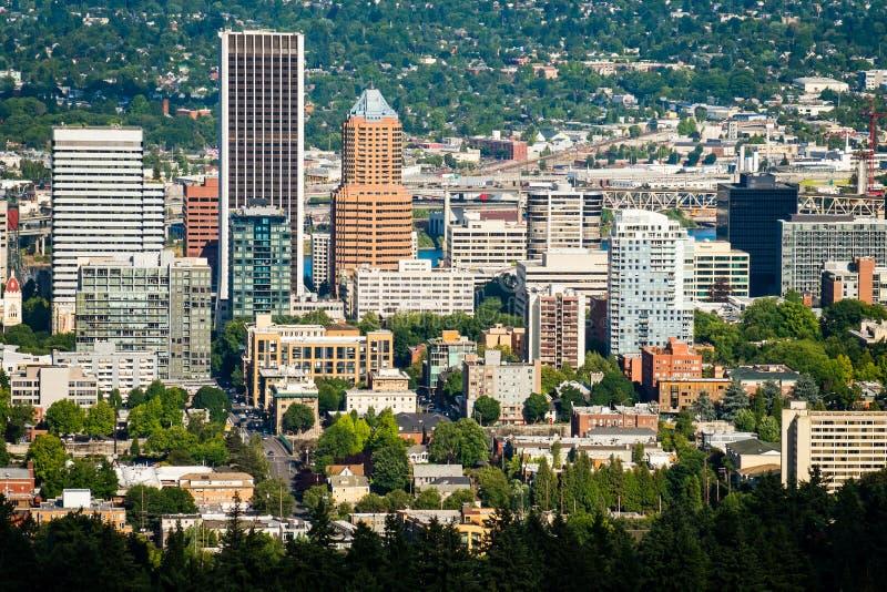 Stadtbild Portland-Oregon lizenzfreie stockbilder