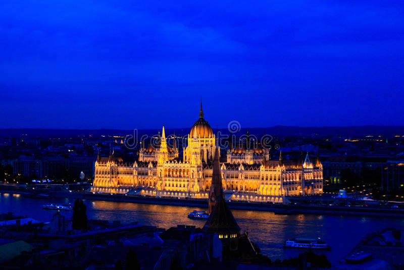 Stadtbild von Budapest, Ungarn stockfoto