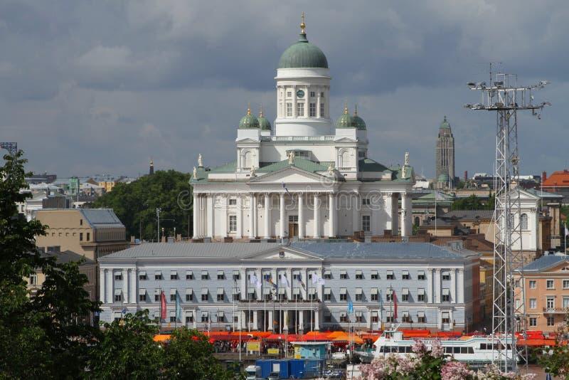 Stadtbild von Helsinki stockbilder