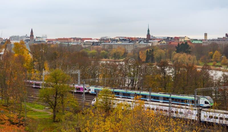 Stadtbild von Helsinki, Finnland lizenzfreie stockfotografie