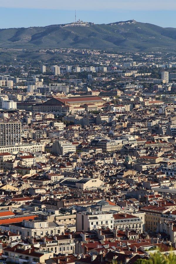 Stadtbild von Marseille, Frankreich lizenzfreies stockfoto