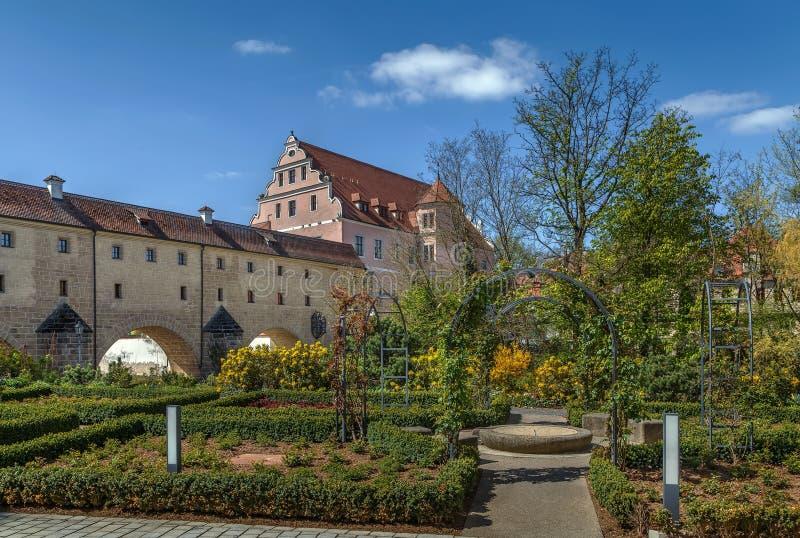 Stadtbrille, Amberg, Duitsland stock afbeeldingen