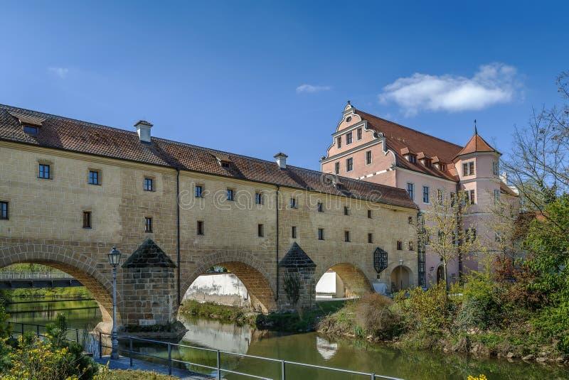 Stadtbrille, Amberg, Duitsland royalty-vrije stock foto's