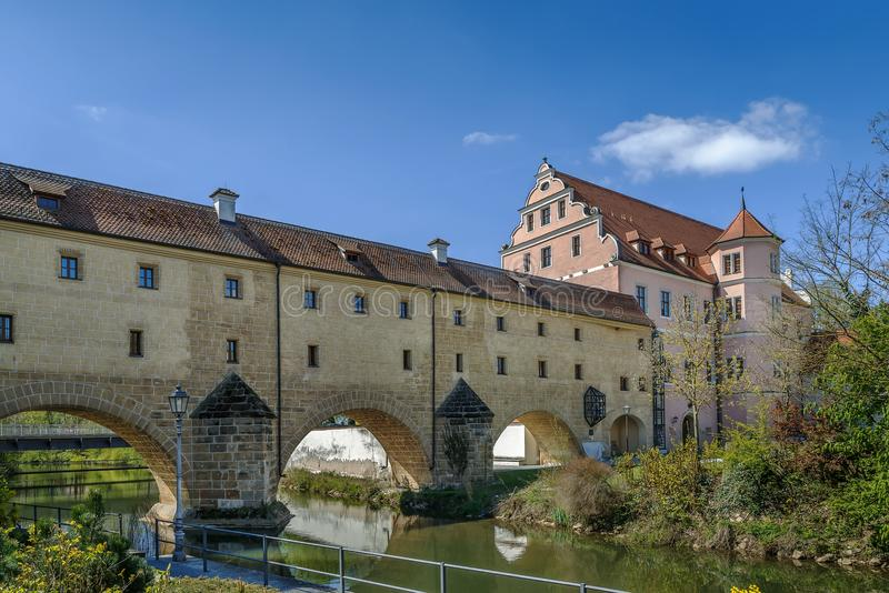 Stadtbrille, Amberg, Germany royalty free stock photos