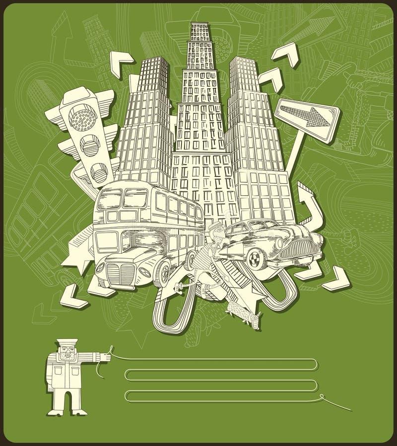 Stadtelemente - Vektor vektor abbildung