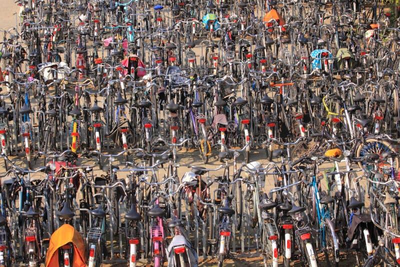 Stadtfahrräder lizenzfreies stockbild