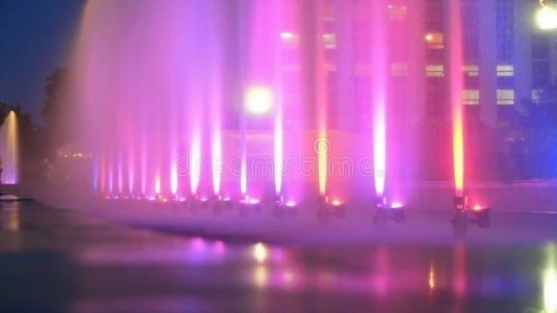 Stadtfarbbrunnen als Hintergrund lizenzfreie stockfotografie