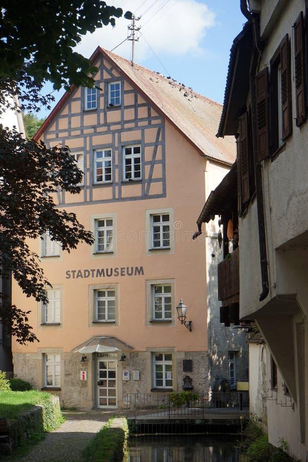 Stadtmuseum 免版税库存照片