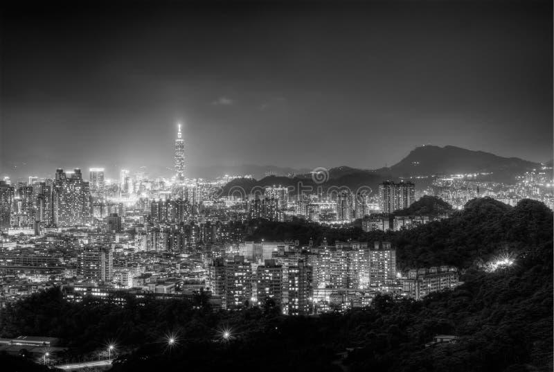 Stadtnacht lizenzfreies stockbild