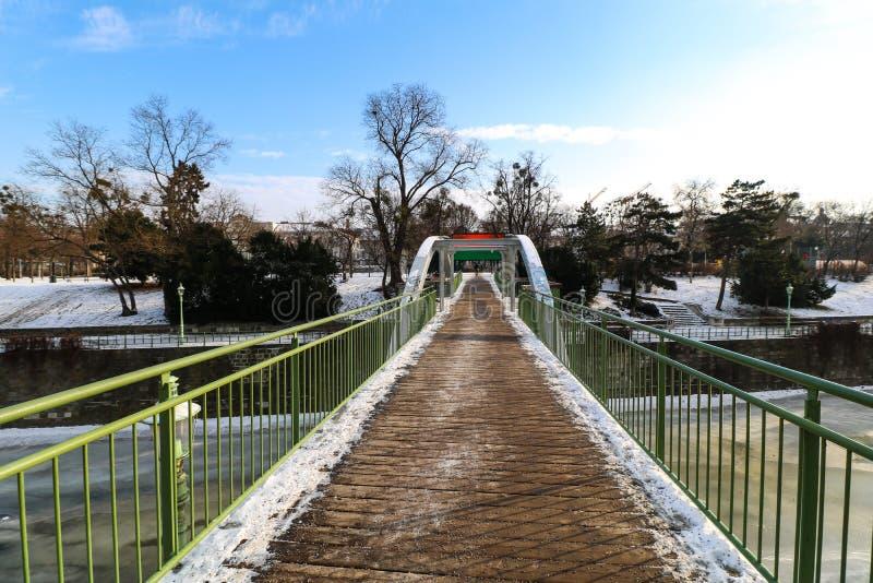 ` Stadtpark `市中央公园维也纳 免版税库存图片