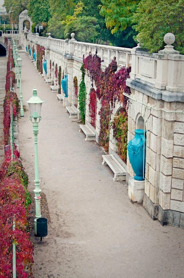 Stadtpark lizenzfreie stockfotos