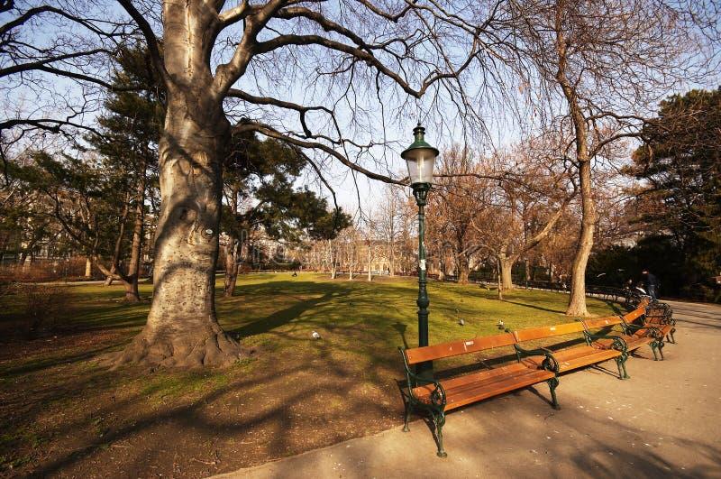 Stadtpark in Viena royalty-vrije stock foto's