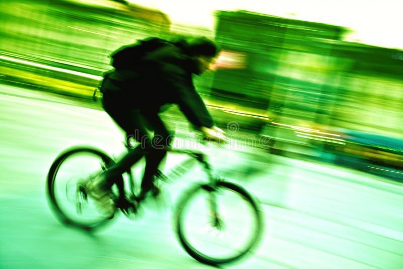 Stadtradfahren stockfotos