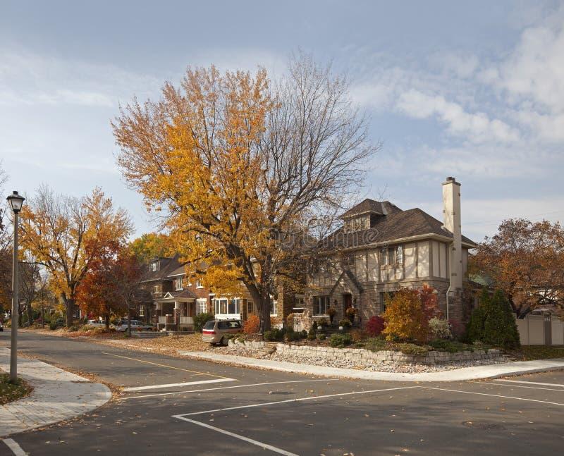 Stadtstraße in Ottawa stockbilder