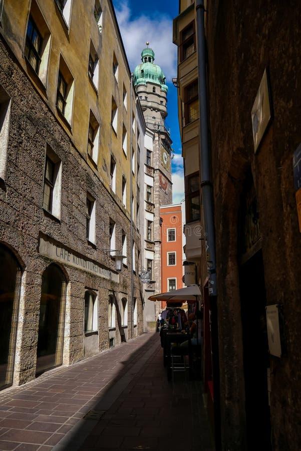 Stadtturmtoren royalty-vrije stock fotografie