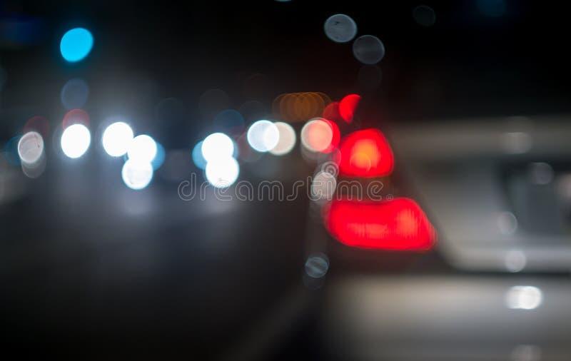 Stadtunschärfehintergrund stockfoto