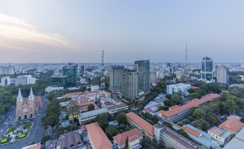 Stadtzentrum stockfoto