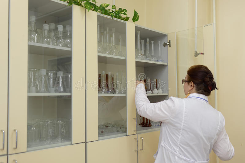 Download Staff in laboratory editorial image. Image of glassware - 93754575