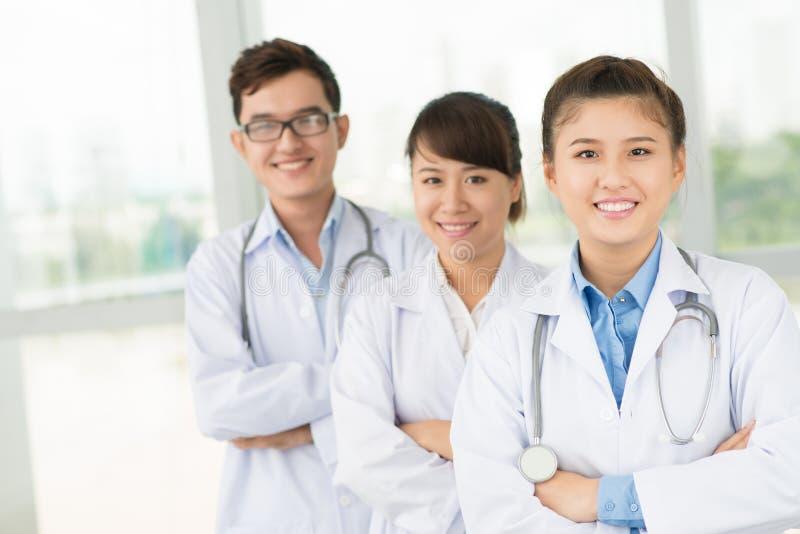 Staff ospedaliero immagine stock libera da diritti