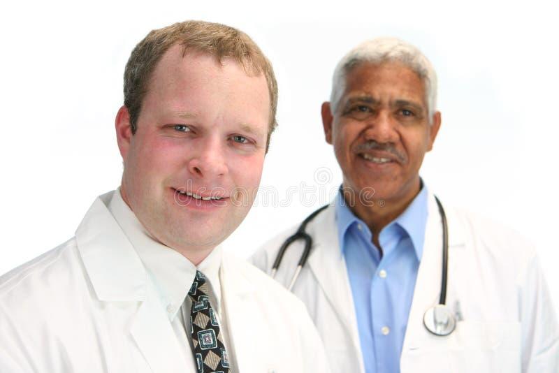 Staff ospedaliero immagini stock