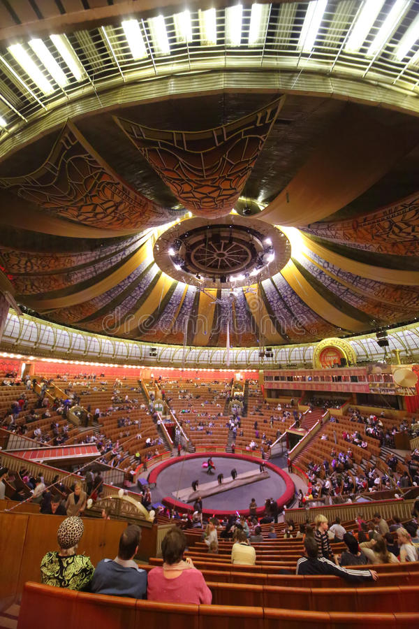 Download Staff Rolled Up Manege In Arena Of The Great Moscow State Circus Editorial Stock Photo - Image: 32655383