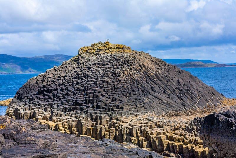 Staffa, ένα νησί του εσωτερικού Hebrides σε Argyll και Bute, Σκωτία στοκ φωτογραφίες με δικαίωμα ελεύθερης χρήσης