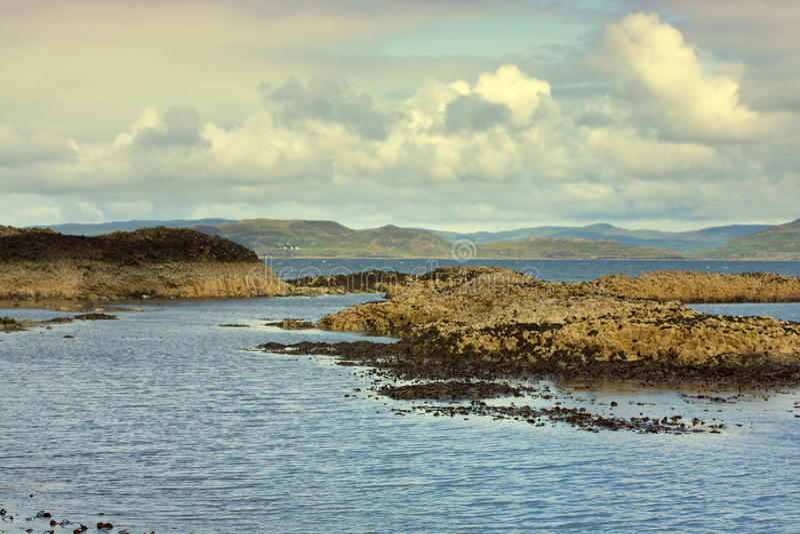 Staffa, ένα νησί του εσωτερικού Hebrides σε Argyll και Bute, Σκωτία στοκ φωτογραφία με δικαίωμα ελεύθερης χρήσης