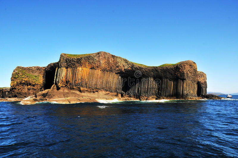 Staffa-Insel, stockfoto