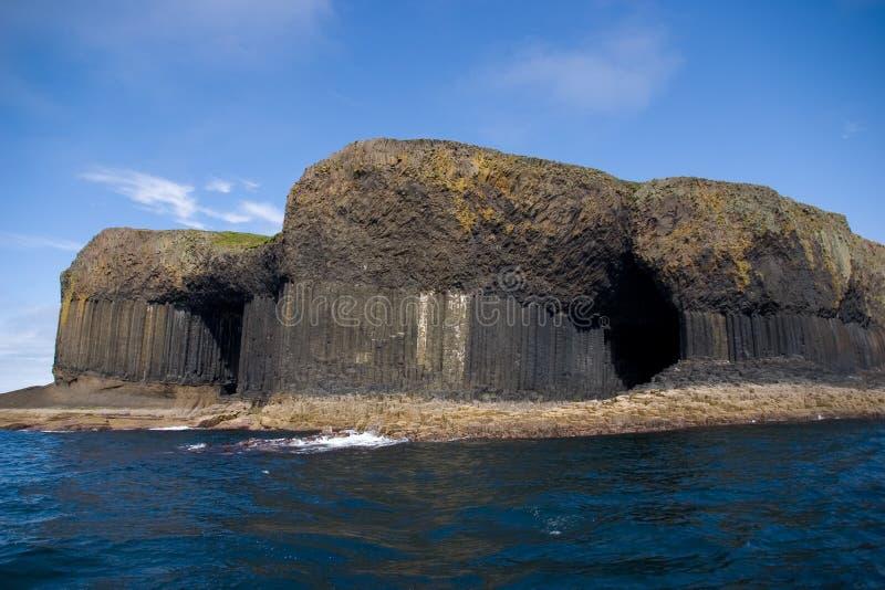 Staffa Insel, Schottland stockfotografie