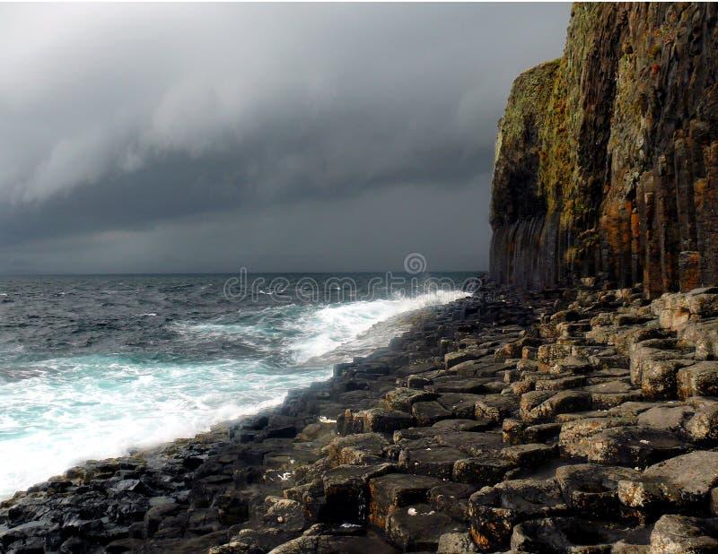 Staffa Shore