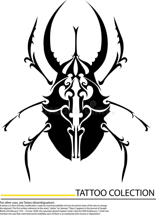 Download Stag Beetle, The Largest Beetle , Eps8  Format Stock Illustration - Image: 32006522