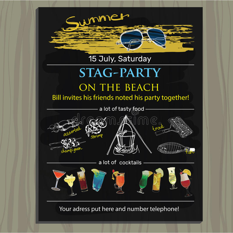 Fancy Bucks Party Invitations Composition - Invitation Card Ideas ...