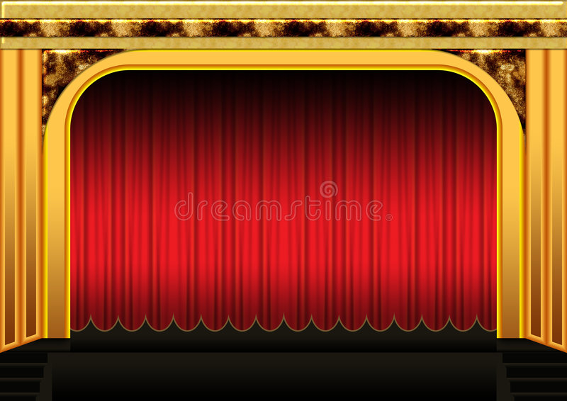 Stage Stock Image