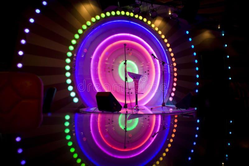 Download Stage stock image. Image of indoor, concert, decorate - 16119755