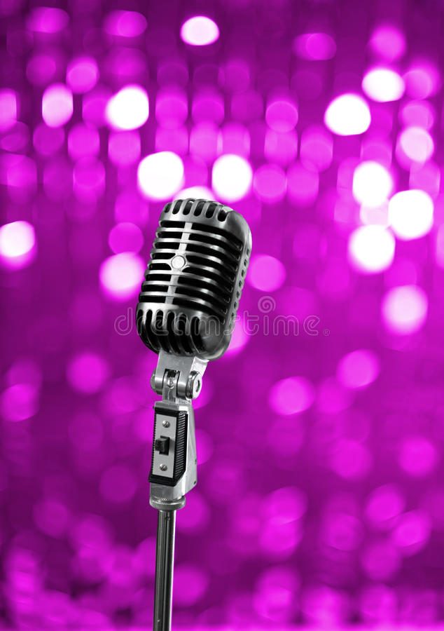 Download On stage stock photo. Image of equipment, event, radio - 18058372