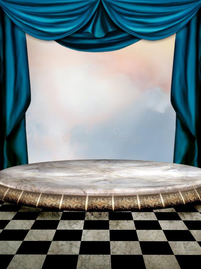 Stage royalty free illustration