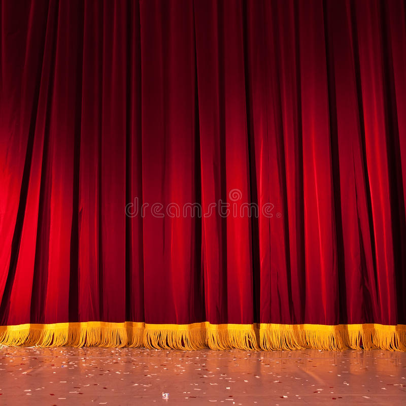 Download Stage stock photo. Image of photograph, cloth, pleats - 22963766