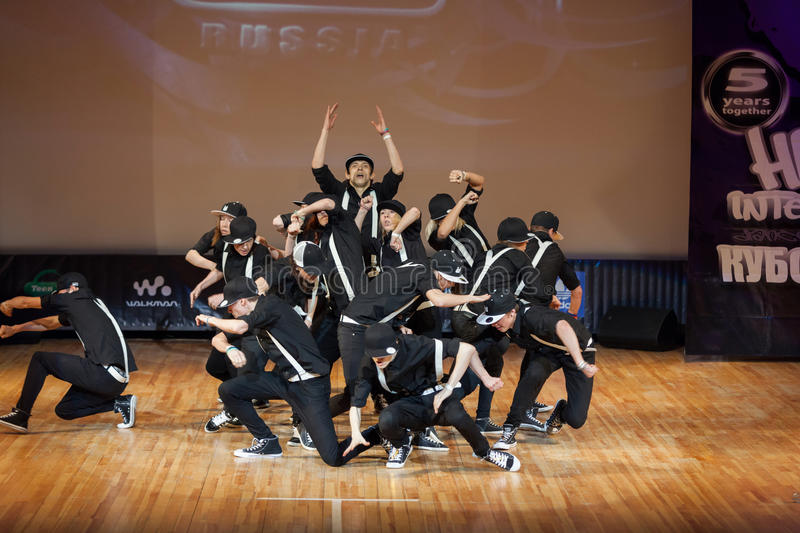Download On Stage Band, Called  Hustle Crew Editorial Stock Photo - Image: 30983628